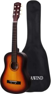 HUAWIND Small Acoustic Kids Guitar for Beginner